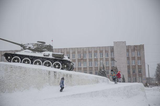 Talvella 2016 Venäjän viranomaiset ohjasivat turvapaikanhakijoita Kantalahdesta kohti Suomen rajaa.