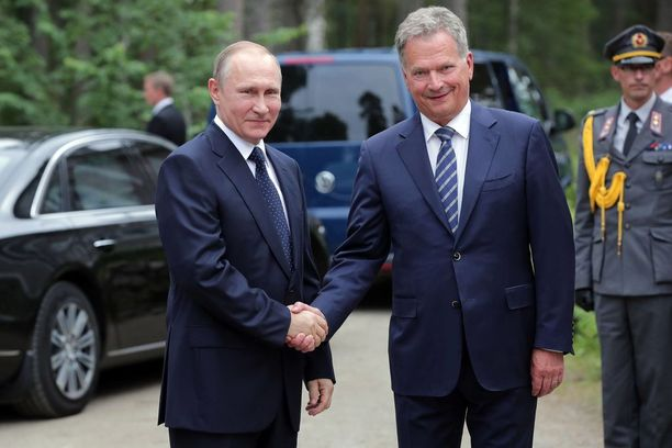 Niinistö tapasi Venäjän Vladimir Putinin Punkaharjulla viime vuoden heinäkuussa.