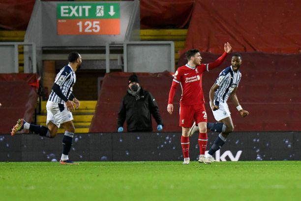 West Bromwich Albion juhlii maukasta 1–1-tasoitusta.