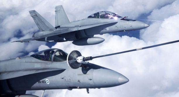 Suomesta Nato-harjoitukseen osallistuu kuusi Hornet-hävittäjää, sekä erikoisjoukot.