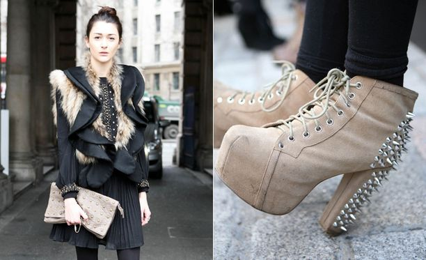 Fashionistat toivovat tulevansa kuvatuiksi muotiviikkojen aikana.