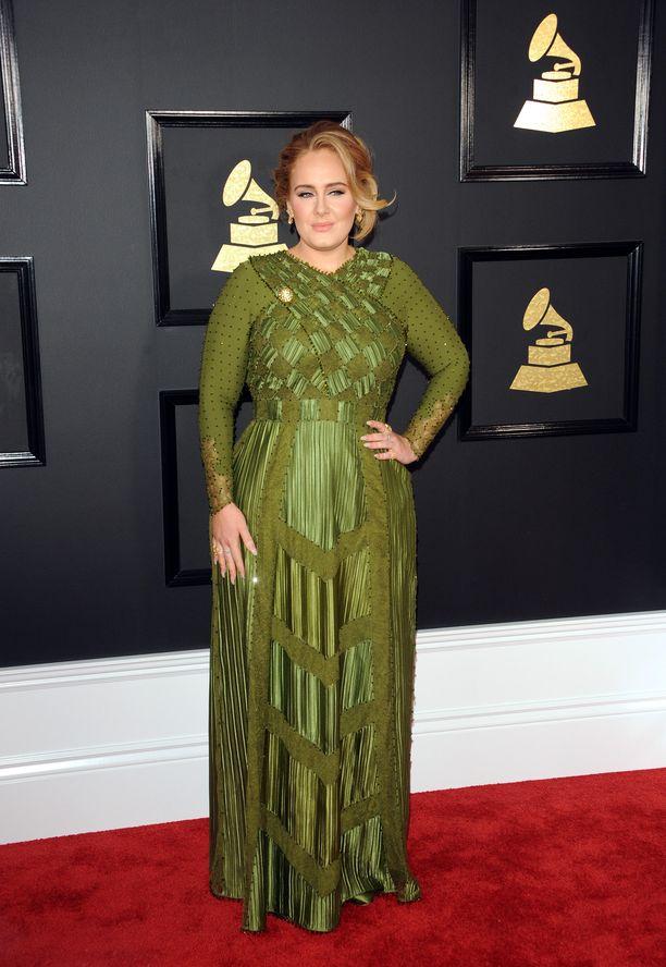 Adele kuvattuna vuonna 2017.