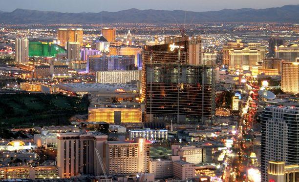 Patrik Laineen ikä ei riitä vielä Las Vegasin kasinojen uhkapeliin.