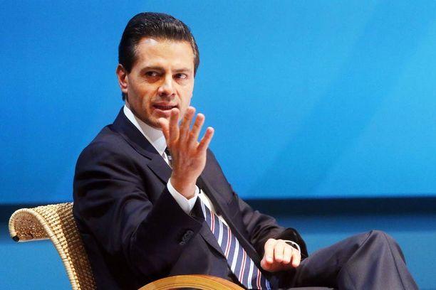 Presidentti Enrique Pena Nieton mielestä meksikolaisia ei voida yleistää rikollisiksi, kuten Trump on heitä kuvaillut.