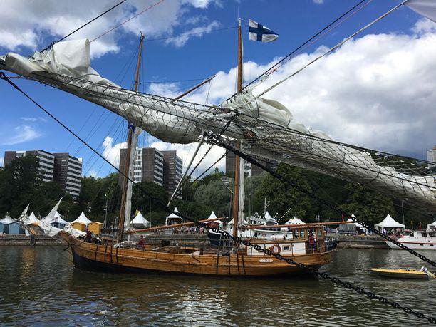 Suomalainen Astrid oli ensimmäisten lähtijöiden joukossa.