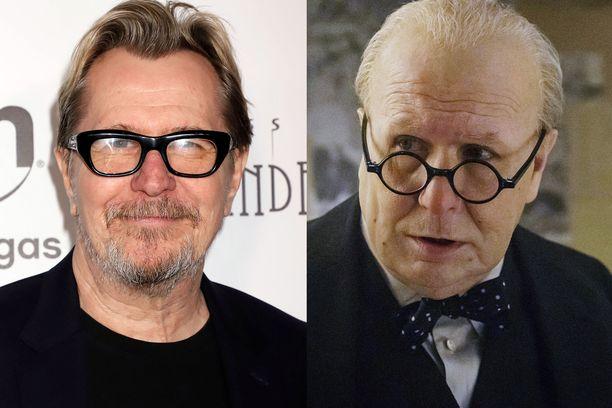 Gary Oldman voitti parhaan miespääosan Oscarin viime vuonna roolistaan Winston Churchillina elokuvassa Darkest Hour.