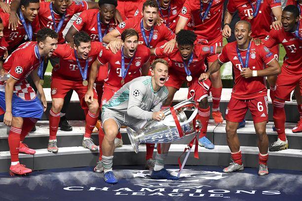 Bayern yrittää harvinaista temppua: Mestarien liigan voiton uusimista.