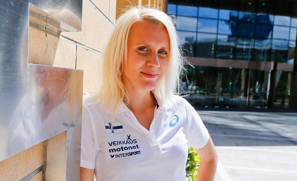 26-vuotias Sandra Eriksson on suomalaisen yleisurheilun kärkinimiä.