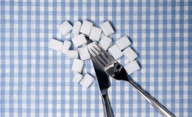 Liika sokeri tuhoaa paitsi hampaitasi myös mahdollisesti ihoasi.