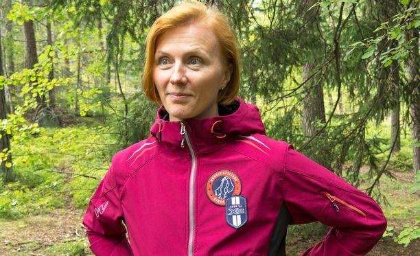 Virpi Sarasvuo, entinen Kuitunen, kuvattuna vuonna 2015.