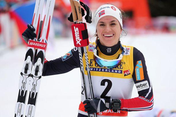 Heidi Weng tekee paluuta vaikean viime hiihtokauden jälkeen.