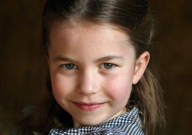 Prinsessa Charlotte on jo 5-vuotias.