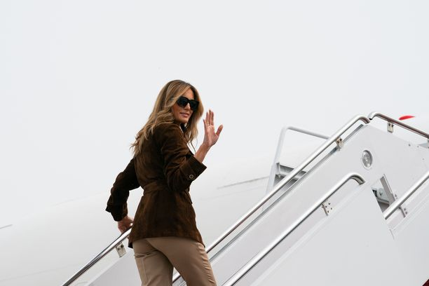 Yhdysvaltojen ensimmäinen nainen Melania Trump.