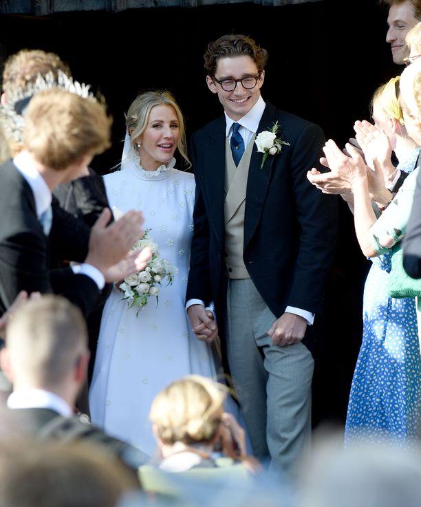 Ellie Goulding ja Caspar Jopling avioituivat Yorkissa.