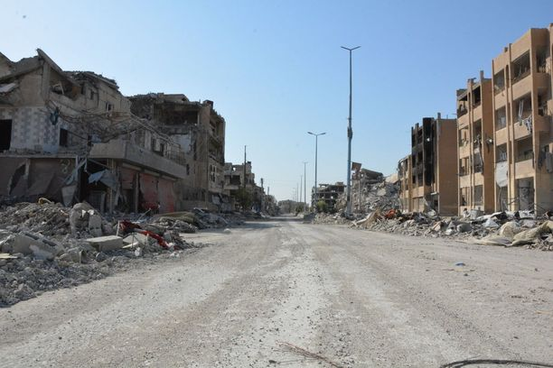 Raqqa toimi Isisin pääkaupunkina.