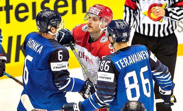 Leijonat kärsi keskiviikkoiltana yllätystappion Tanskalle.