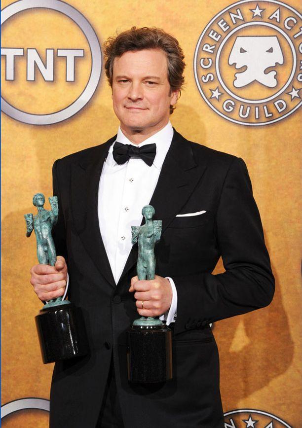 Colin Firth on palkittu näyttelijä, mutta Oscaria hän ei toistaiseksi ole voittanut.