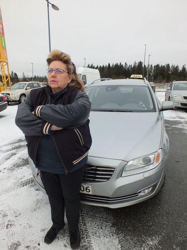 Vilppulalainen taksinkuljettaja Kirsi Johansson on maanlaajuisen kapinaliikkeen keulakuva.