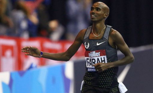 Mo Farahia epäillään dopingista.