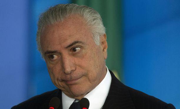 Brasiliassa syyttäjä on nostanut korruptiosyytteet presidentti Michel Temeriä vastaan.