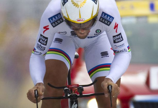 Fabian Cancellara on aika-ajojen ennakkosuosikki.