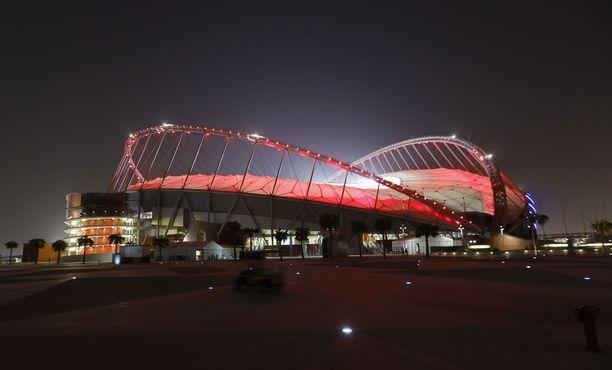 Qatarin Dohan yleisurheilun maailmanmestaruuskisoja käydään muun muassa Khalifan kansainvälisellä stadionilla.