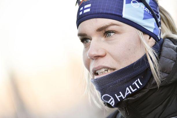 Jasmi Joensuu kertoi tuskailleensa etenkin toisella kierroksella.