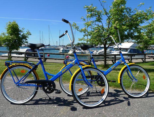 Victoria ja Daniel saavat häälahjaksi suomalaiset polkupyörät.