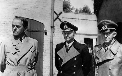"""Luottomiehensä menettäneen Hitlerin seuraajanimityksestä yllättyivät kaikki – myös valittu itse: """"Nyt tämä loppuu!"""""""
