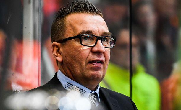 Ari-Pekka Selinin TPS kärsi maalinteko-ongelmasta SaiPaa vastaan.