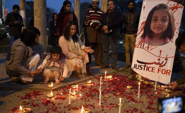 Zainab Ansarin murha muistutti maailmaa naisten Pakistanissa kokemasta jatkuvasta väkivallasta.