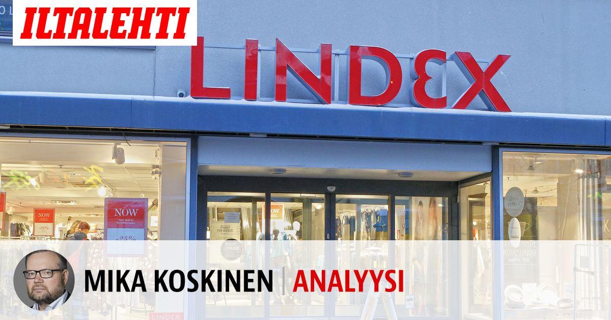 Lindex-kauppa oli upottaa koko Stockmannin  nyt...