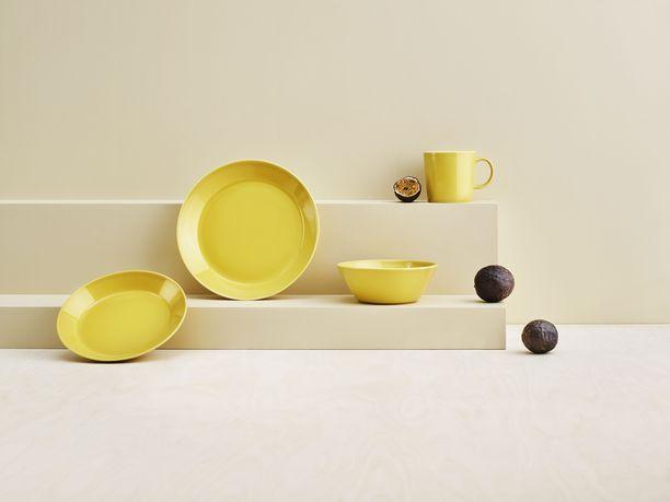 Teema-sarjan uusi väri kantaa nimeä hunaja.