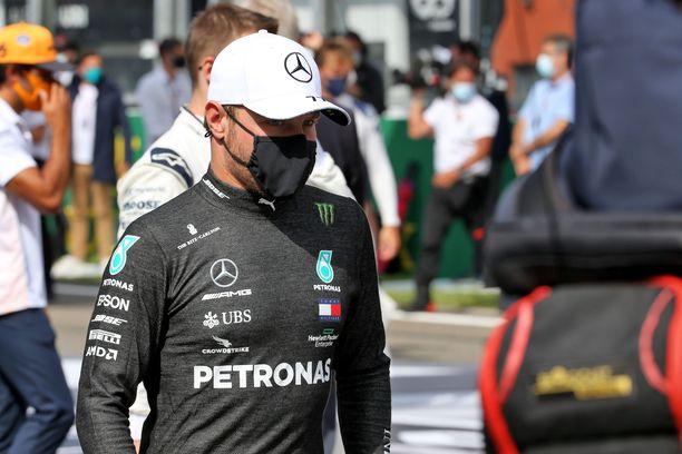 Valtteri Bottas ajoi toiseksi Belgian GP:ssä.