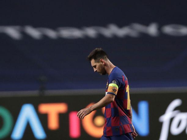Lionel Messin johtama Barcelona sai tylyn selkäsaunan perjantaina Bayern Müncheniltä Mestarien liigassa perjantaina.