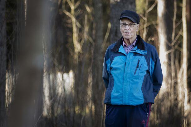 Jukka Laaksosesta huokui loppuun saakka suuren valmentajan karisma. Kuva on otettu vuonna 2017.