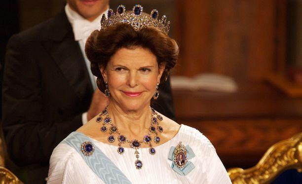 Kuningatar Silvia täyttää 73 vuotta.