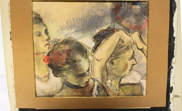 """Yksi hurjimpia taideväärennöksille keksittyjä omistushistorioita liittyy Edgar Degasin työhön """"Kolme tanssijatarta""""."""