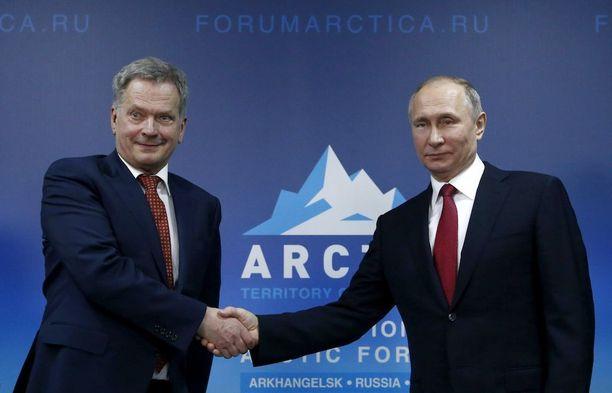 Päiväkohtainen huomio keskittyi isäntään eli Vladimir Putiniin ja hänen tapaamiseensa etenkin presidenttikollegan Sauli Niinistön kanssa.