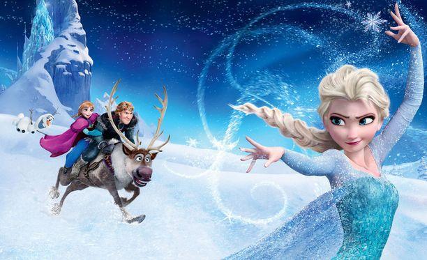 Elsalla on taikavoimia, jotka eivät kuitenkaan pelota Annaa.