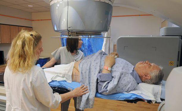 Eturauhassyöpään sairastuu vuosittain noin 4 000 miestä.