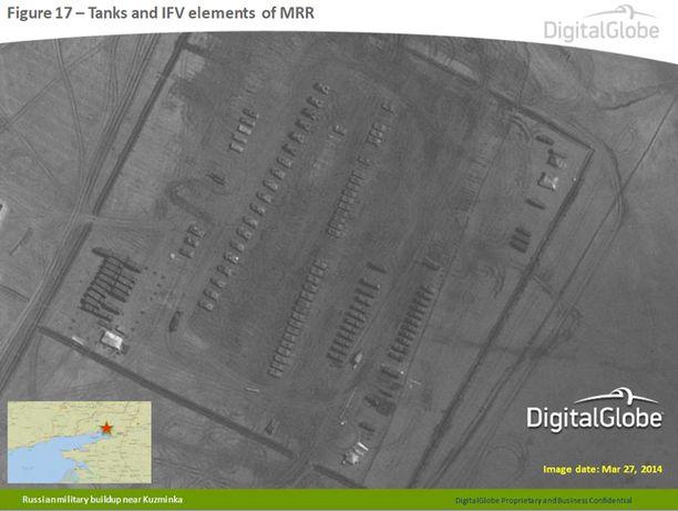 Venäjän mukaan Naton julkaisemat kuvat ovat peräisin elokuulta 2013.