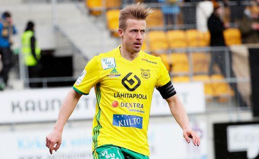 Antti Hynynen iski Ilveksen johtoon ennen kuin oli ehditty pelata edes minuuttia.