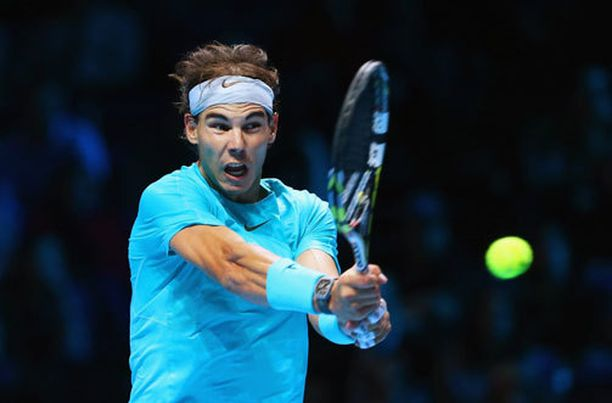 Rafael Nadal paahtoi ATP-kiertueen finaaliin.