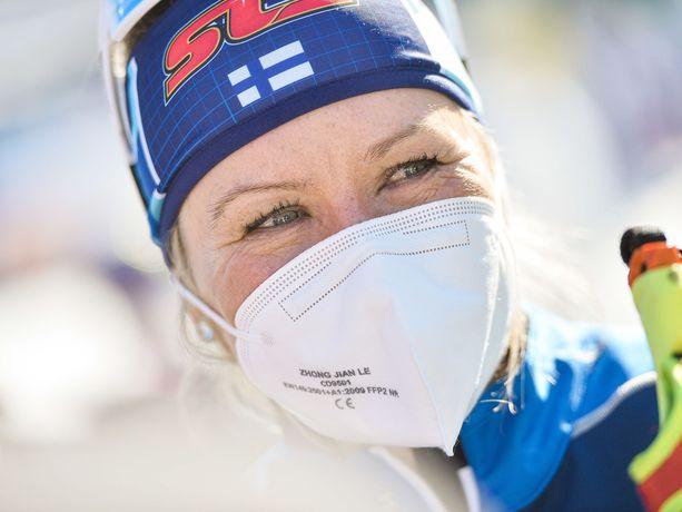 Riitta-Liisa Roponen teki torstaina MM-historiaa.