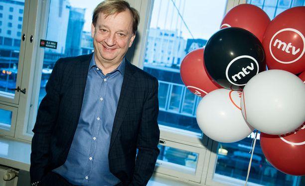 Hjallis Harkimo tekee paluun MTV3:lle maaliskuussa oman talk show'n myötä.