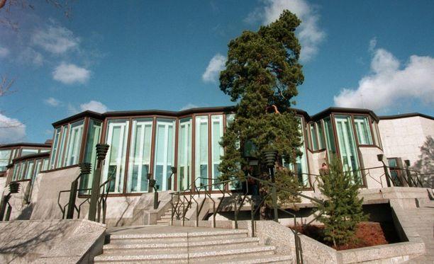 Mäntyniemen virka-asunto valmistui vuonna 1993.