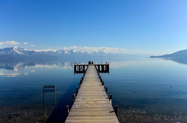 Kaunis luonto on yksi Makedonian viehättävyyksistä.