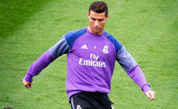 Cristiano Ronaldo oli huonolla tuulella.