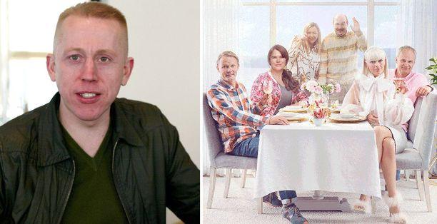 Hans Ingemansson tunnetaan muun muassa Solsidan-sarjan käsikirjoittajana.